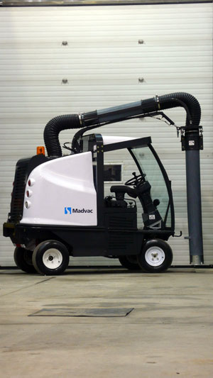 Madvac Introduces New LR50 All Wheel Drive Outdoor Vacuum Sweeper