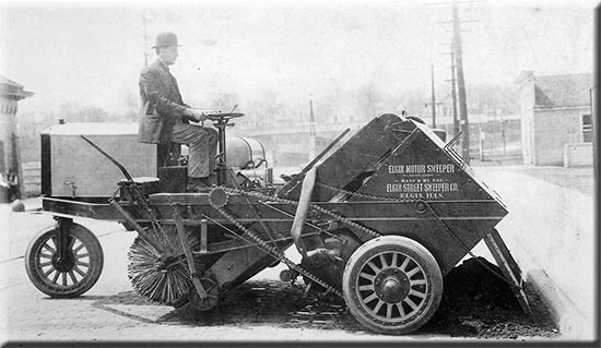 Elgin Sweeper Celebrates 100 Years Of Innovation And