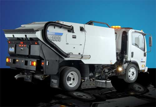 Compact Schwarze A4000 Sweeper Gets Some Big Upgrades